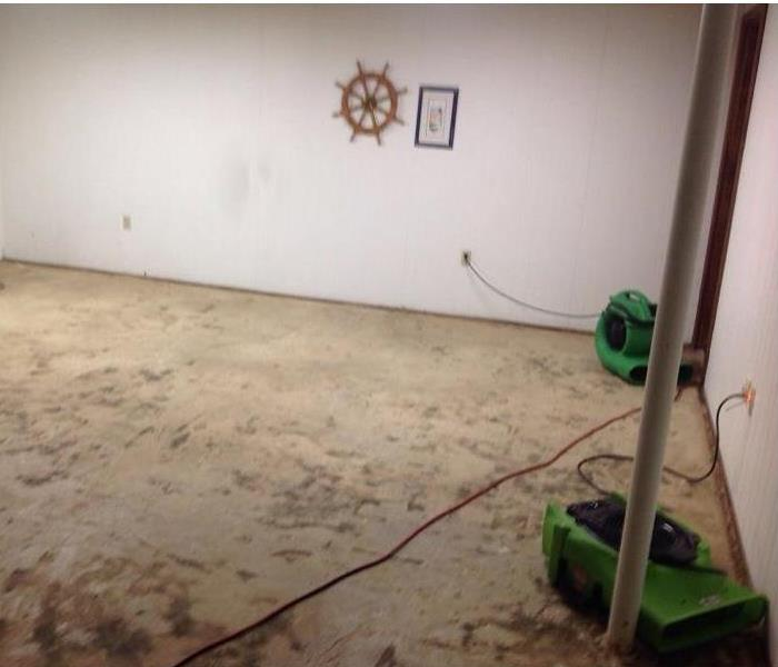 Flooded Basement in Englewood, Ohio After