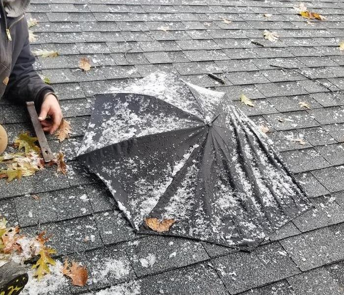 Emergency Service after Roof Damage in North College Hill, Ohio