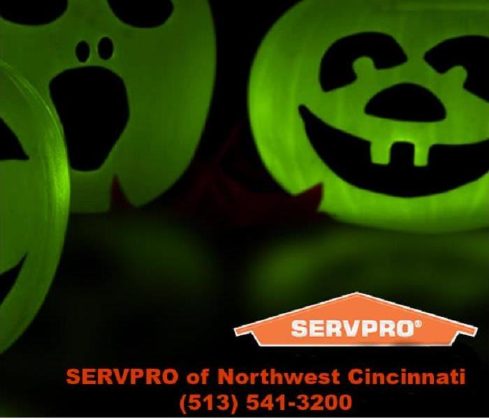 Fire Damage Happy Halloween from SERVPRO of Northwest Cincinnati