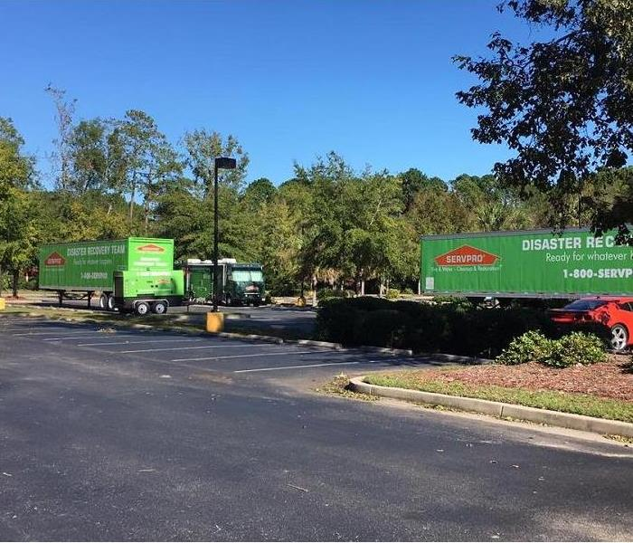 Commercial The SERVPRO Disaster Recovery Team Aids with Hurricane Relief
