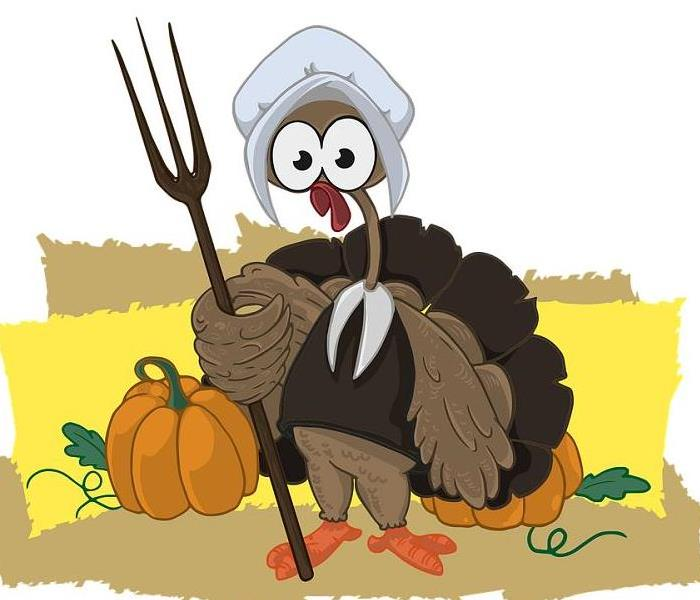 Commercial Happy Thanksgiving from all of us at SERVPRO of Northwest Cincinnati!